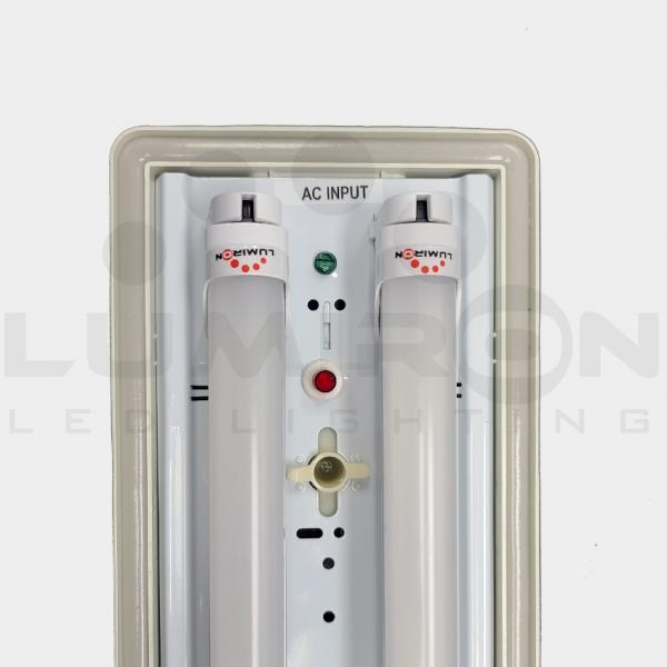 TRAPANI FIXTURE LED TUBE 110-277V AC EMERGENCY BATTERY BACKUP