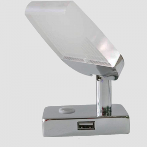 Reading Lamp with USB Port - Inbuilt Touch Dimmer On-Off Switch
