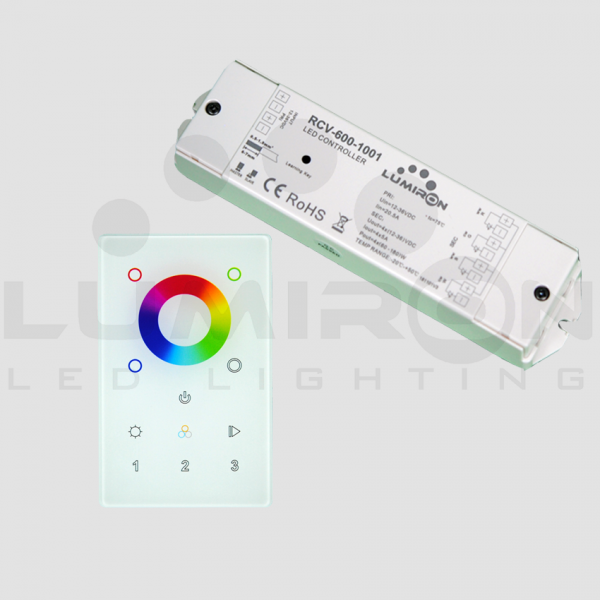 3 ZONE WALL MOUNT RGBW LED CONTROLLER RECEIVER